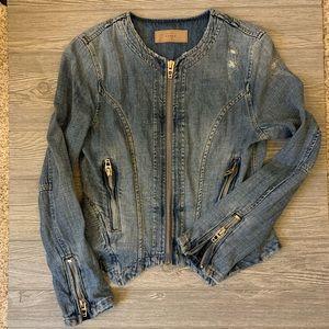 Blank NYC Denim Jacket - Size small